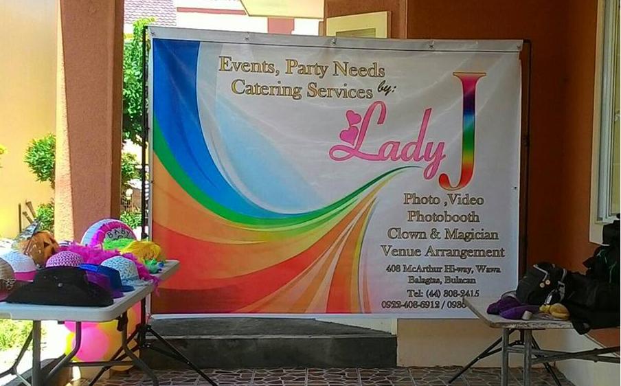 Lady J Party Needs